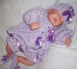 El Örgüsü Bebek Hırka Modelleri 4