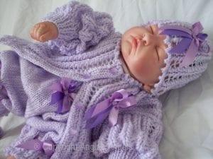 El Örgüsü Bebek Hırka Modelleri 5