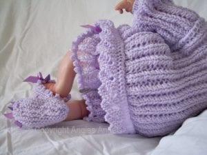 El Örgüsü Bebek Hırka Modelleri 6