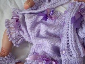 El Örgüsü Bebek Hırka Modelleri 8