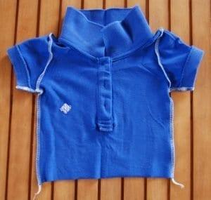 Eski Tişörtten Bebek Elbisesi Yapımı 1