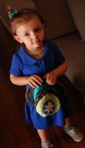 Eski Tişörtten Bebek Elbisesi Yapımı 3