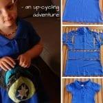 Eski Tişörtten Bebek Elbisesi Yapımı 4