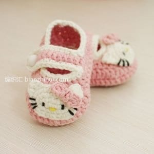 Hello Kitty Bebek Patik Yapılışı