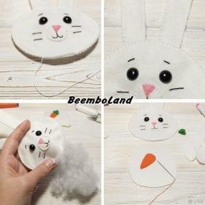 Keçeden Tavşan Nasıl Yapılır? 2
