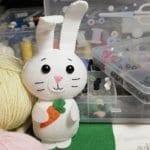 Keçeden Tavşan Nasıl Yapılır? 3