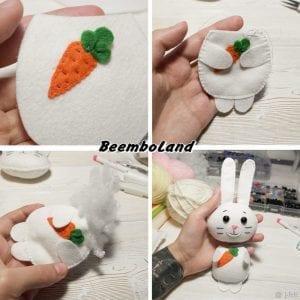 Keçeden Tavşan Nasıl Yapılır? 7