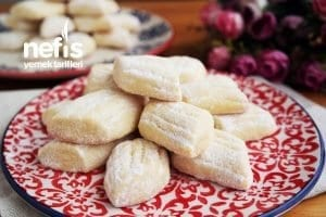 Pastane Tadında, Ağızda Dağılan Tatlı - Tuzlu Kurabiye Tarifleri 2
