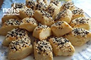 Pastane Tadında, Ağızda Dağılan Tatlı - Tuzlu Kurabiye Tarifleri 8