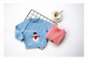 Bebek Kazak Örgü Örnekleri 9