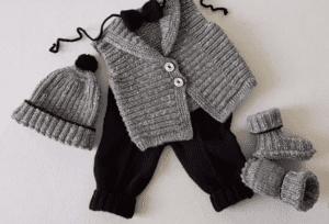 Bebek Örgü Modeli 1