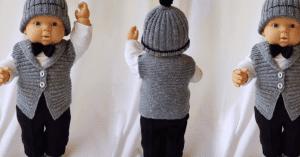 Bebek Örgü Modeli 2