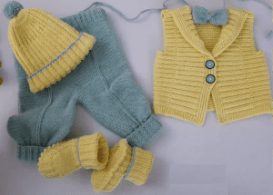 Bebek Örgü Modeli
