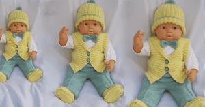 Bebek Örgü Modeli 3