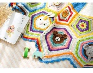Bulmaca Bebek Battaniyesi Yapılışı 19