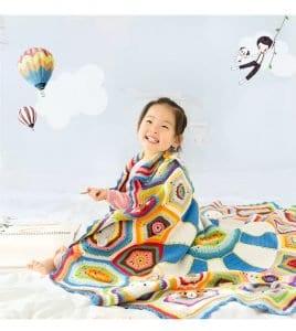 Bulmaca Bebek Battaniyesi Yapılışı 22