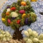 Dokuma Ağaç Modelleri - Dimensional Weaving #woventreehanging 10