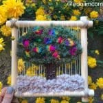 Dokuma Ağaç Modelleri - Dimensional Weaving #woventreehanging 12