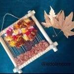 Dokuma Ağaç Modelleri - Dimensional Weaving #woventreehanging 13