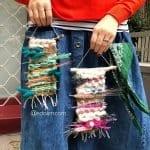 Dokuma Ağaç Modelleri - Dimensional Weaving #woventreehanging 14