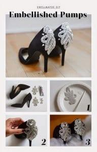 Topuklu Ayakkabı Süsleme 2