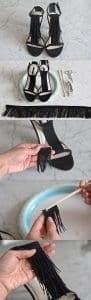 Topuklu Ayakkabı Süsleme 3