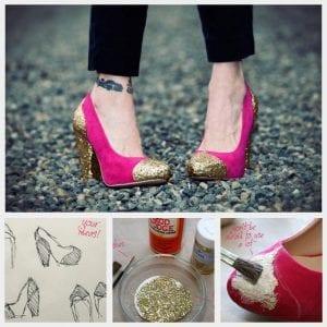 Topuklu Ayakkabı Süsleme 4