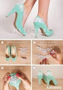 Topuklu Ayakkabı Süsleme 5