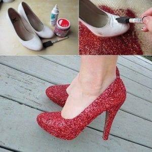 Topuklu Ayakkabı Süsleme 6