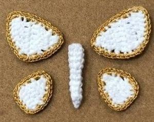 Üç Boyutlu Örgü Kelebek Yapımı 5