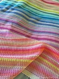Bebek Battaniye Örgü Modelleri ve Yapılışları 13