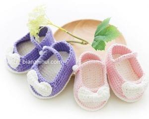 Bebek Patik Örgü Modelleri 10