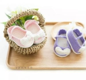 Bebek Patik Örgü Modelleri 8