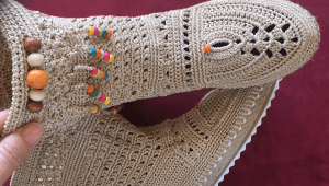 Boncuklu Çizme Yapımı