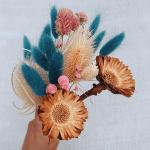 Kuru Çiçek Buketi Yapımı 10