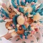 Kuru Çiçek Buketi Yapımı
