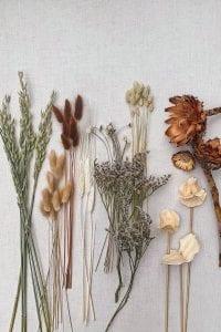 Kuru Çiçek Buketi Yapımı 1