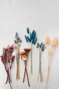 Kuru Çiçek Buketi Yapımı 3