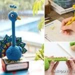 Amigurumi Kalem Süsü Yapımı 21