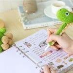 Amigurumi Kalem Süsü Yapımı 5