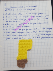 Amigurumi Pikachu Yapımı Türkçe 2