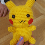 Amigurumi Pikachu Yapımı Türkçe 3