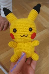 Amigurumi Pikachu Yapımı Türkçe