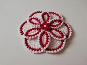 Bahar Çiçeği Lif Modeli Yapımı 1
