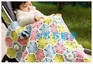 Çocuk Battaniye Örgü Modelleri ve Yapılışları 3