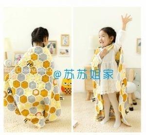 Çocuk Battaniye Örgü Modelleri ve Yapılışları 5