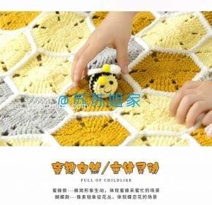 Çocuk Battaniye Örgü Modelleri ve Yapılışları 7