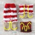 Çoraptan Ren Geyiği Nasıl Yapılır? 14
