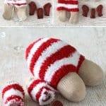 Çoraptan Ren Geyiği Nasıl Yapılır? 15