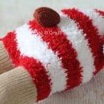 Çoraptan Ren Geyiği Nasıl Yapılır? 28